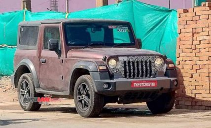 2021 Mahindra Thar Removable Hardtop Variant Spied