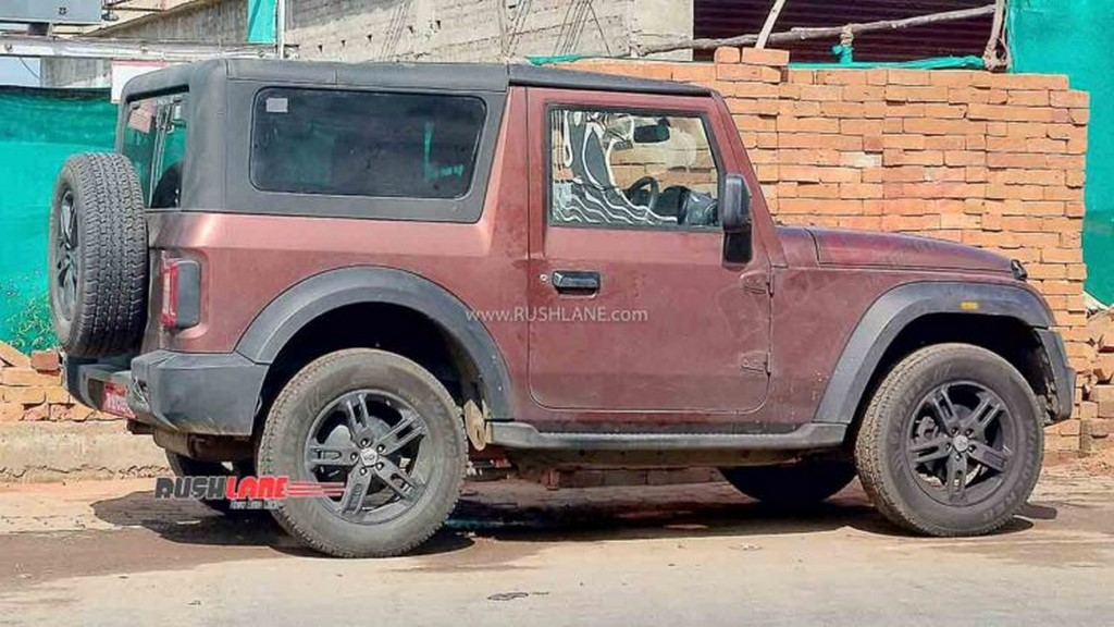 2021 Mahindra Thar Removable Hardtop