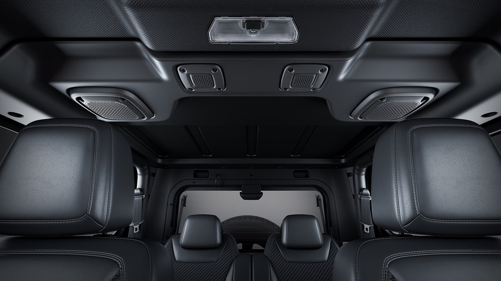2021 Mahindra Thar Speakers