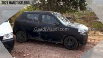 2021 Maruti Celerio Spotted Side