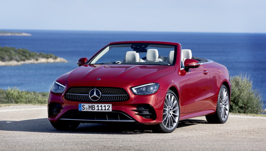 Mercedes E53 Coupe And Cabriolet Make A Summer Splash!