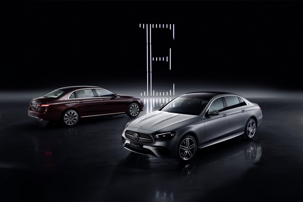 2021 Mercedes E Class LWB Front And Back
