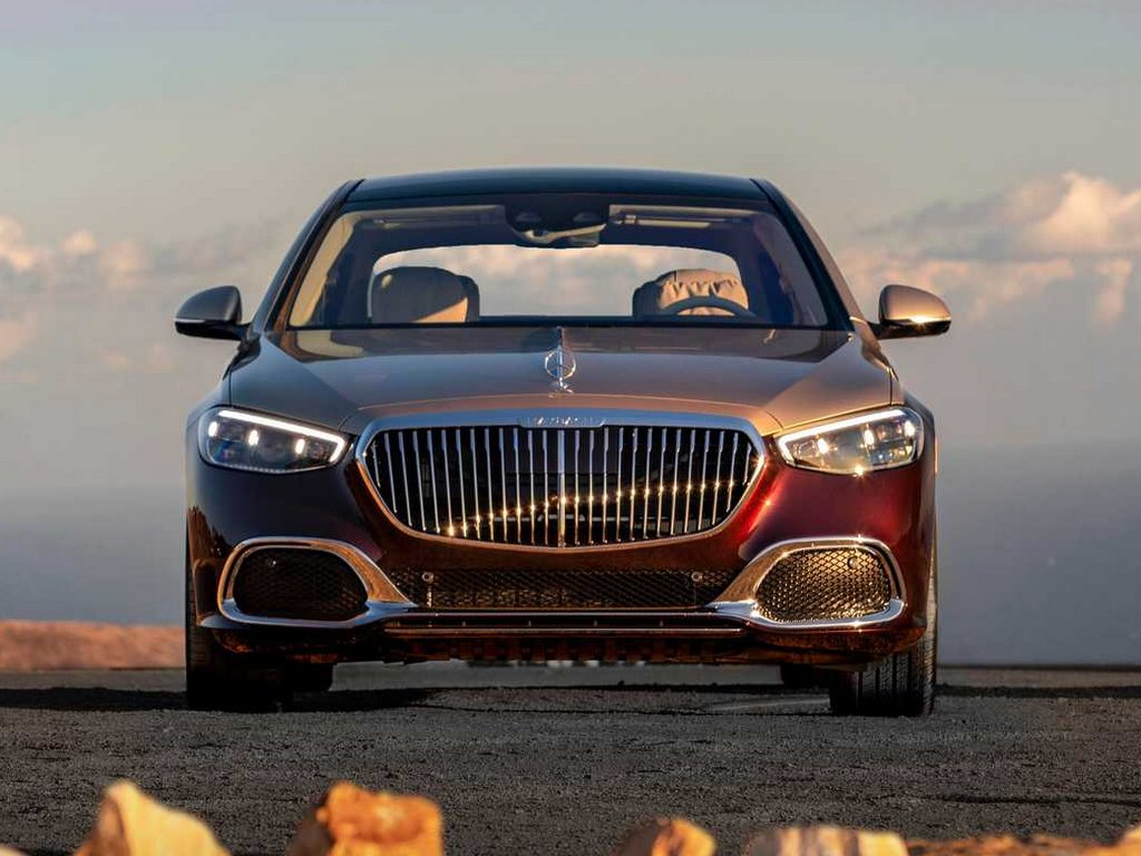 2021 Mercedes Maybach S580 Front