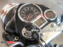 2021 Royal Enfield Classic 350 Instrument Cluster Spied