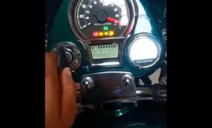 2021 Royal Enfield Classic 350 Instrument Cluster & Tripper Navigation