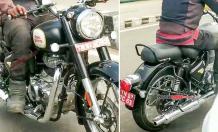 2021 Royal Enfield Classic 350 Spied