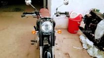 2021 Royal Enfield Classic 350 Spied Headlight