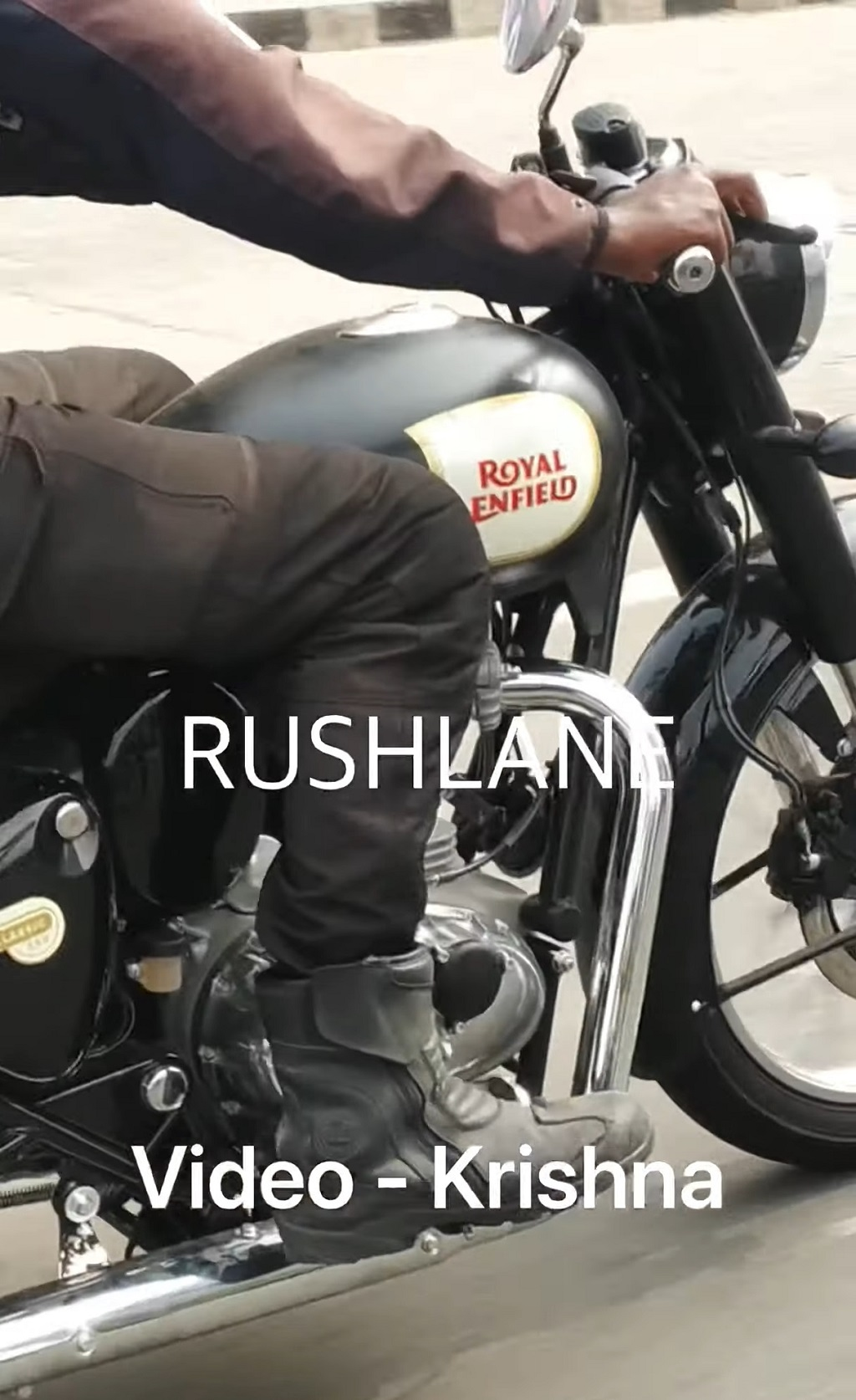 2021 Royal Enfield Classic 350 Spied Side