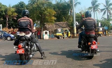 2021 Royal Enfield Classic 350 Spotted