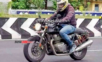 2021 Royal Enfield Continental GT 650 Spied