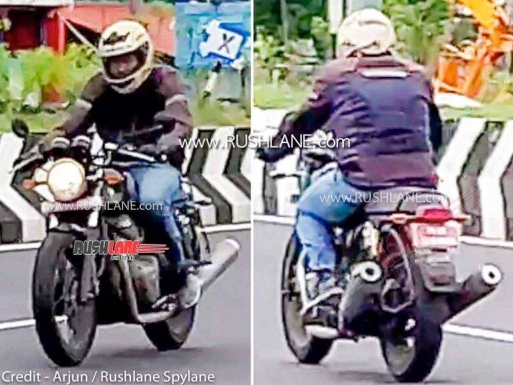 2021 Royal Enfield Continental GT 650 Spotted