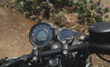 2021 Royal Enfield Hunter 350 Instrument Cluster Spied