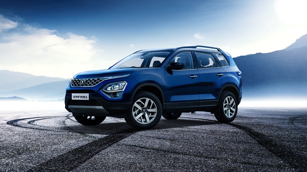 Front profile of the new SUV