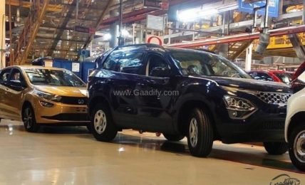 2021 Tata Safari Production