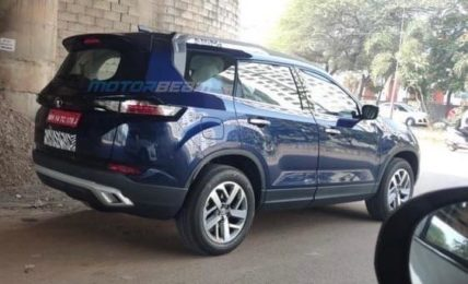 2021 Tata Safari Undisguised