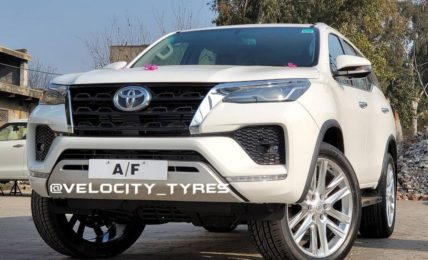 2021 Toyota Fortuner Aftermarket Alloys