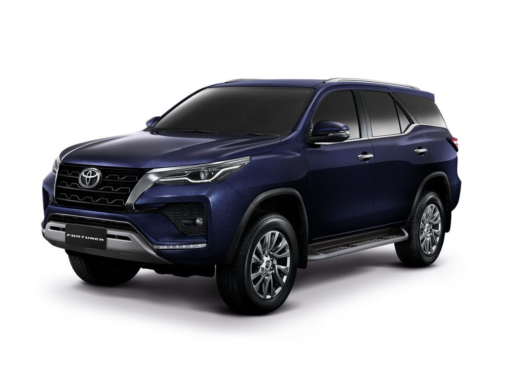 2021 Toyota Fortuner Colours