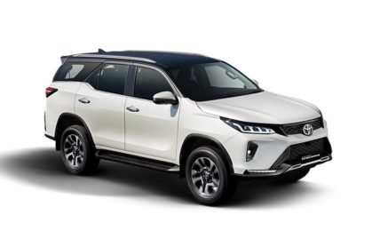 2021 Toyota Fortuner Legender