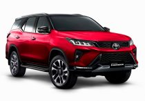 2021 Toyota Fortuner Red