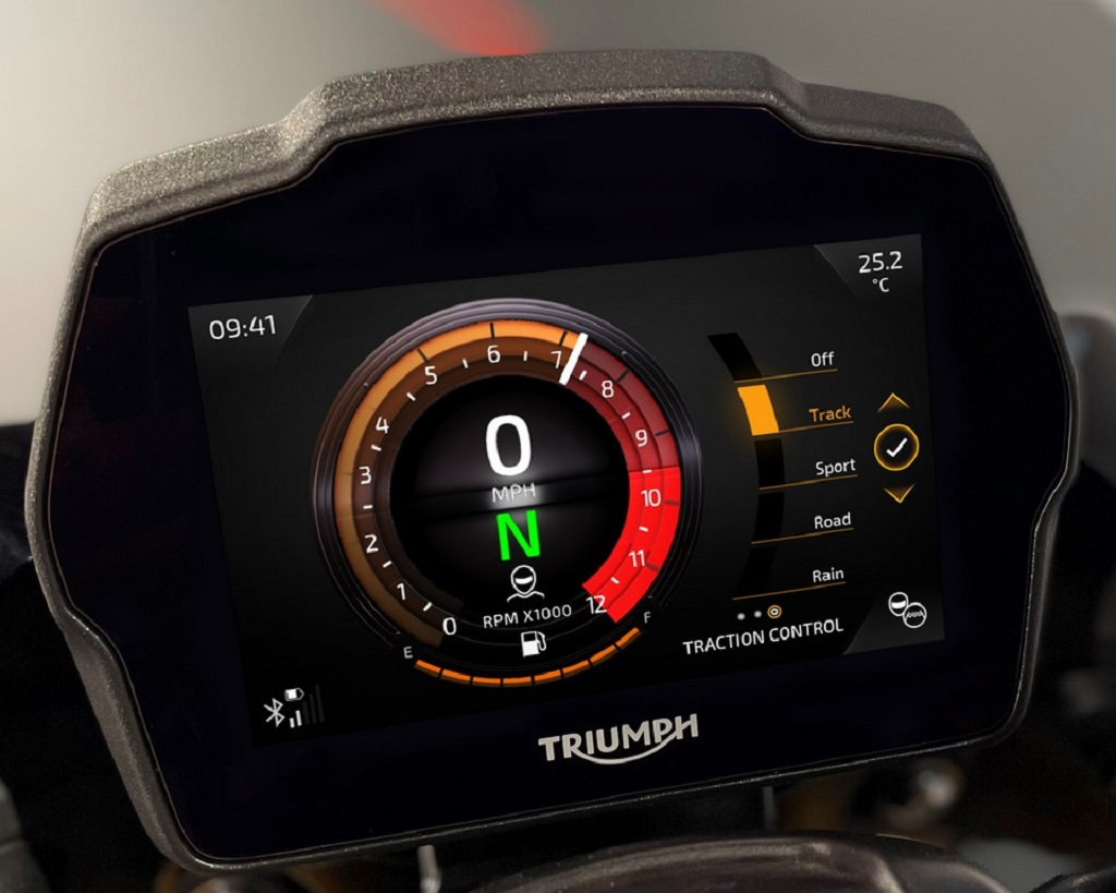 2021 Triumph Speed Triple 1200 RS Instrument Cluster