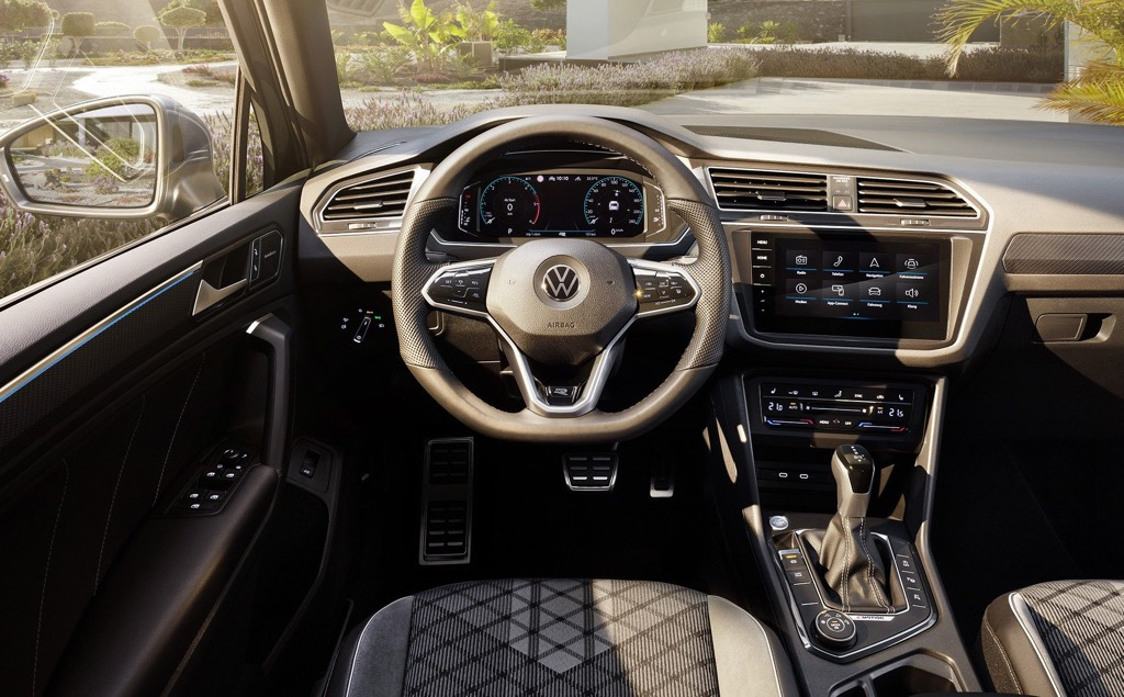 Revised interiors with new steering and infotainment