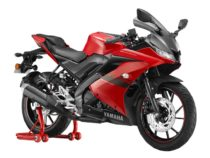 2021 Yamaha R15 Metallic Red