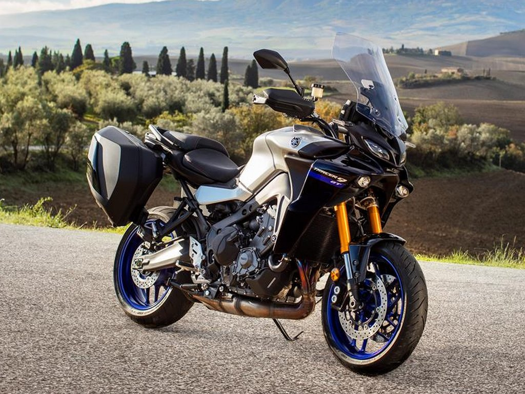 2021 Yamaha Tracer 9 GT Front