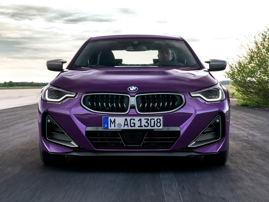 2022 BMW 2-Series Coupe Front
