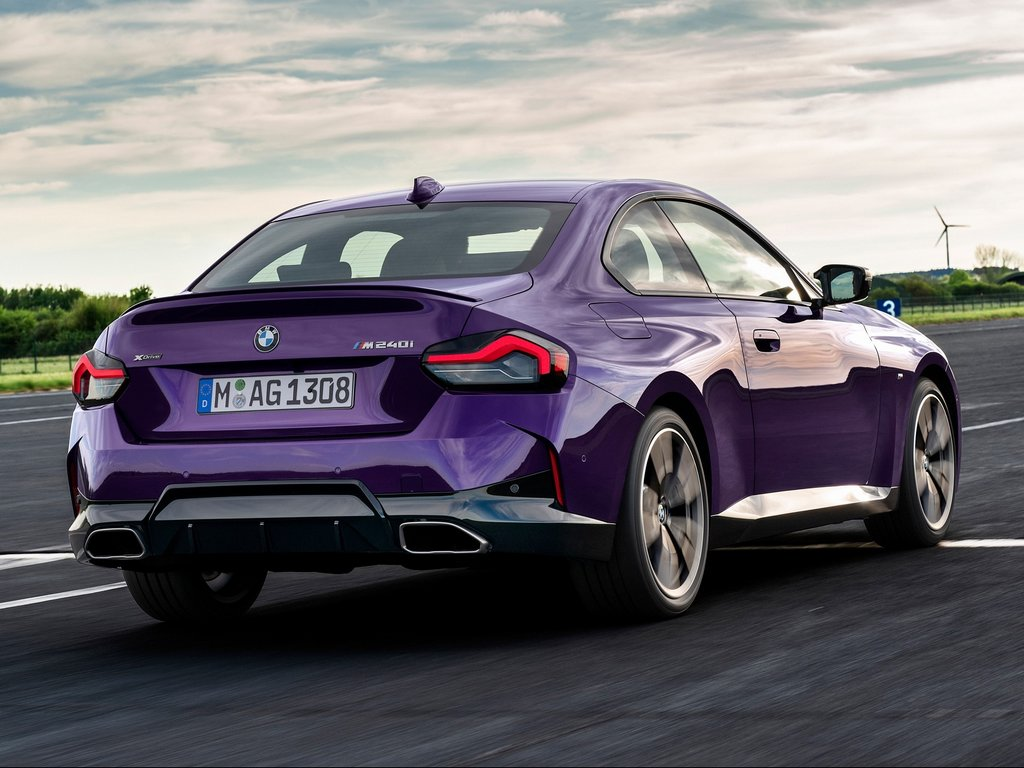 2022 BMW 2-Series Coupe Rear