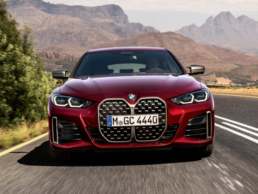 2022 BMW 4-Series Gran Coupe Front