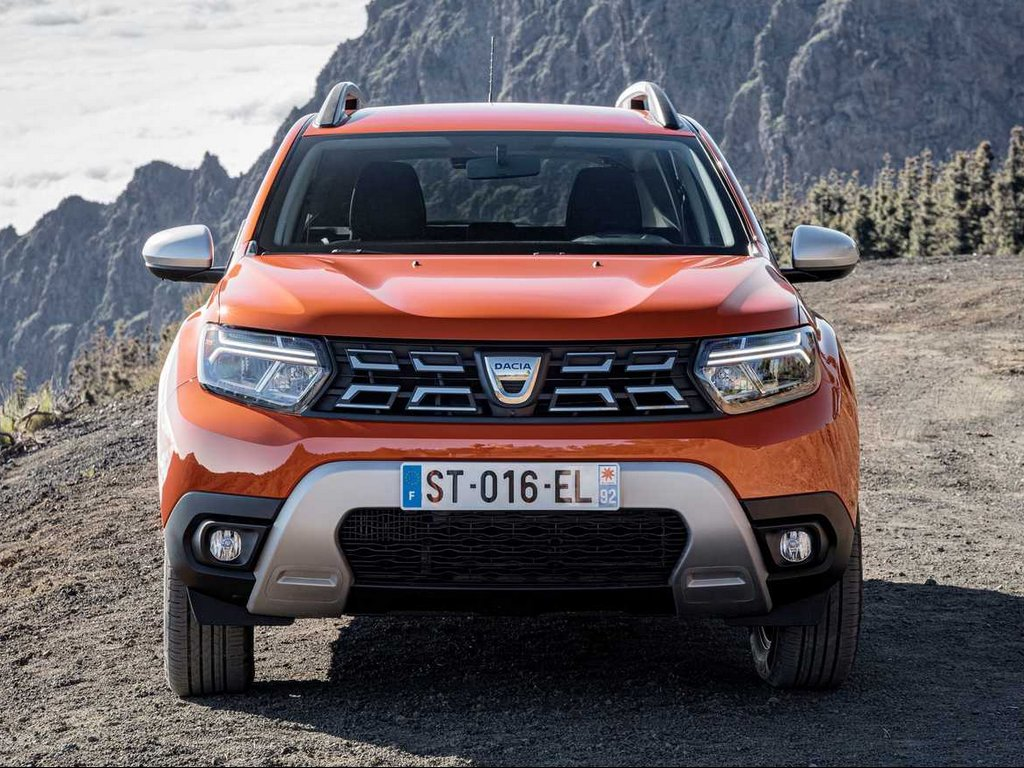 2022 Dacia Duster Front