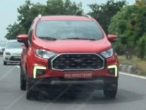 2022 Ford EcoSport Facelift Spied