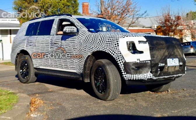 2022 Ford Endeavour Spotted
