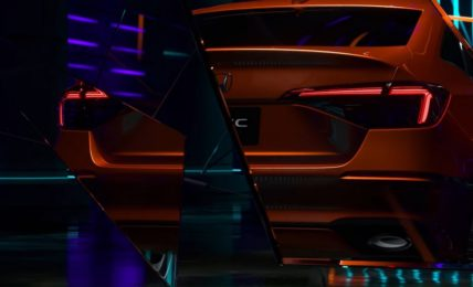 2022 Honda Civic Teaser Rear