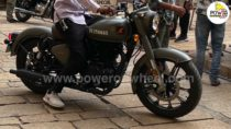 2022 Royal Enfield Classic Signals 350 Spotted