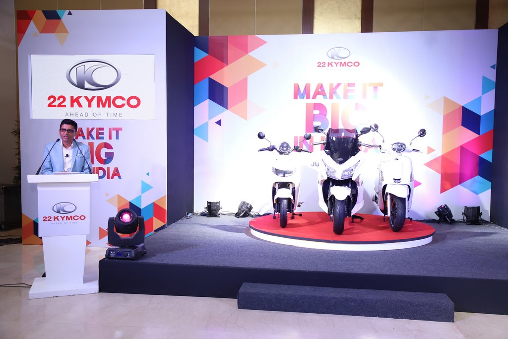 22 KYMCO Launched