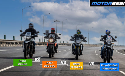 250 Adv vs G 310 GS vs Himalayan vs Xpulse