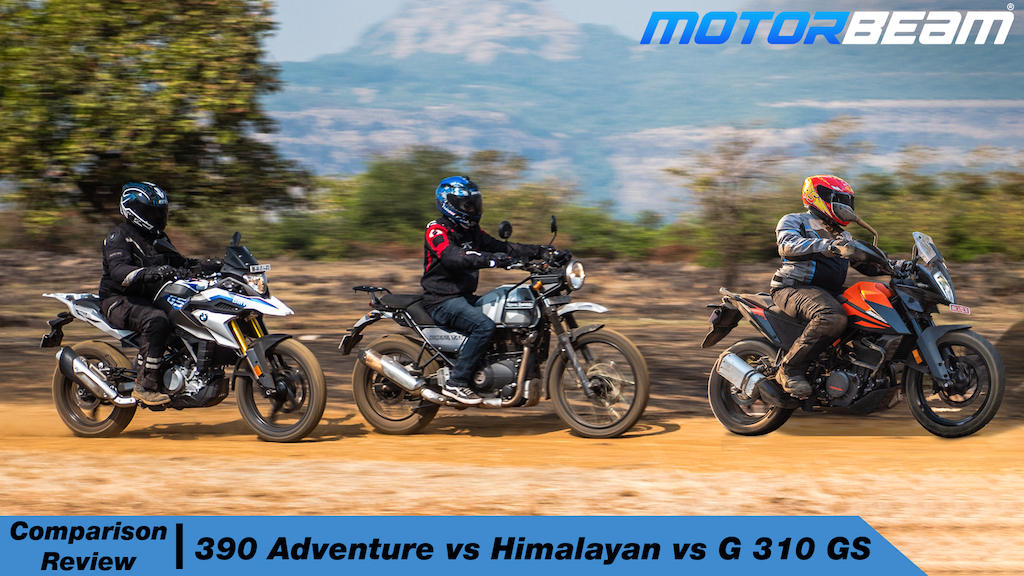390 Adventure vs Himalayan vs G 310 GS Hindi