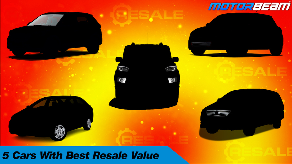 5 Cars With Best Resale Value