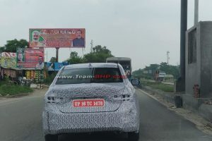 5th-Generation Honda City Spied
