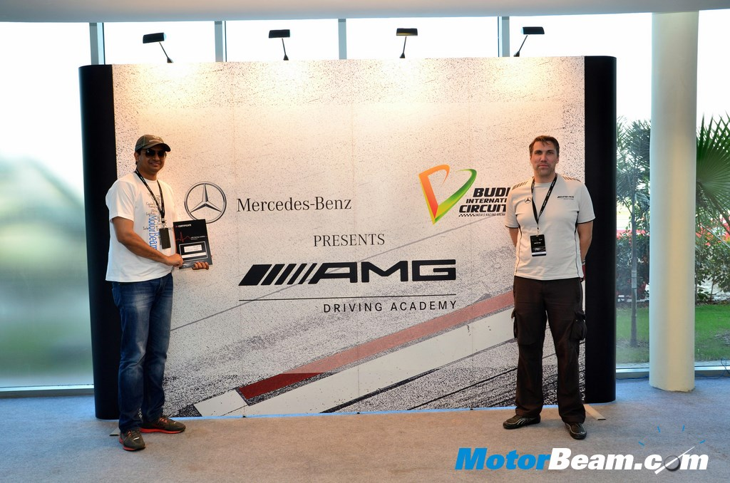 AMG Driving Academy Certificate