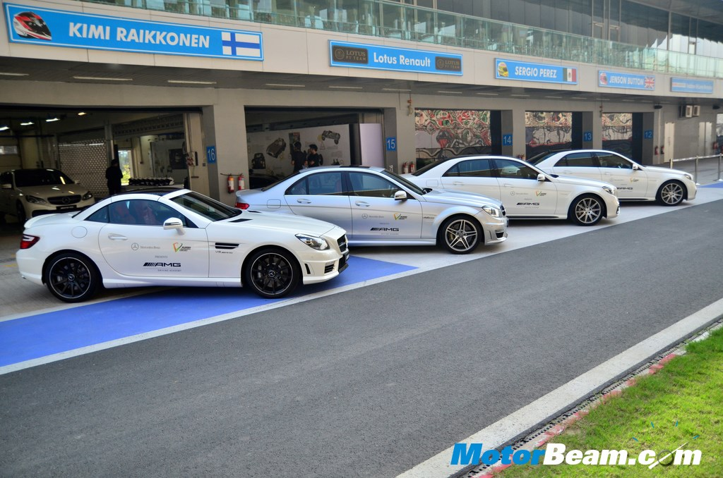 AMG Driving Academy User Experience