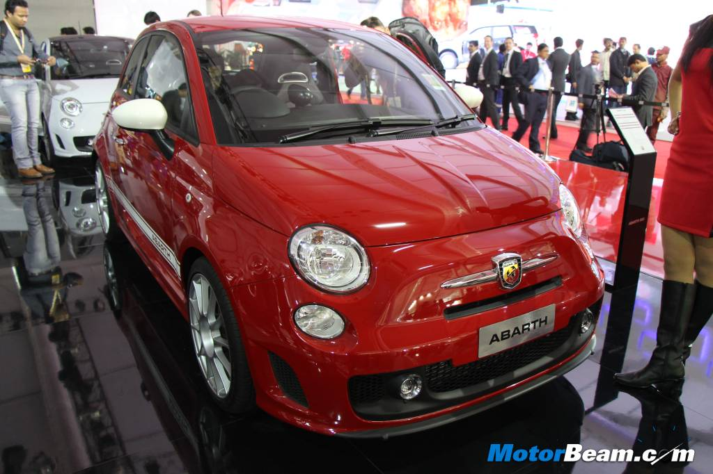 Abarth 500 Auto Expo India