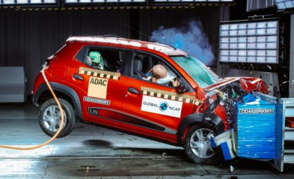Africa Renault Kwid Safety Rating