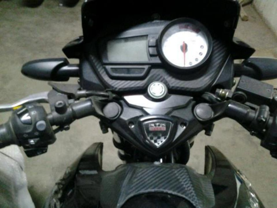 All New RTR Instrument Cluster