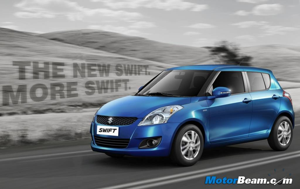 All New Swift Blue Colour