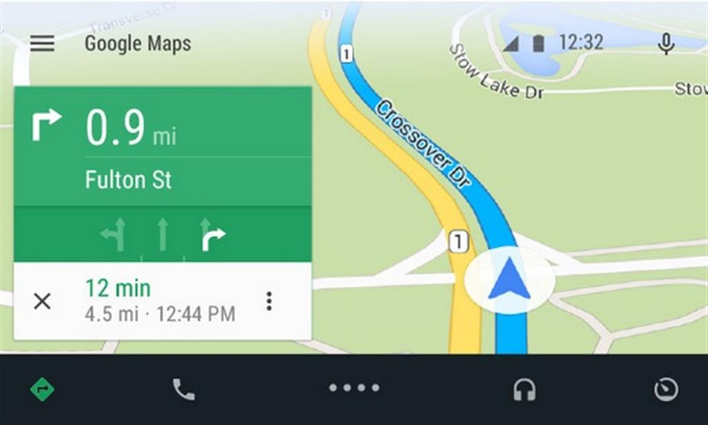 Android Auto Maps