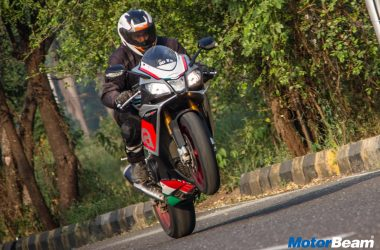Aprilia RSV4 RF Test Ride Review