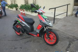 Aprilia SR150 Race Right