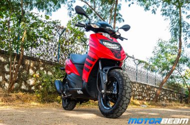 Aprilia Storm 125 Review Test Ride